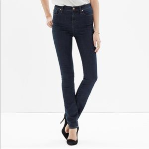 "MADEWELL High Rise 9"" Alley Straight, Size 27."